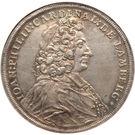 1 Thaler - Johann Philipp – avers