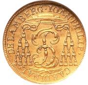 ½ ducat Johann Philip – avers
