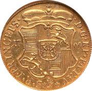 ½ ducat Johann Philip – revers
