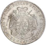 1 thaler Joseph Franz Anton de Auersperg – revers