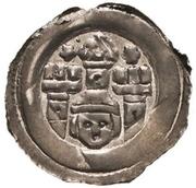 1 Pfennig - Berthold von Peiting and Otto von Lonsdorf – avers