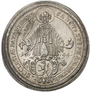1 Thaler - Johann Philipp Graf von Lamberg – revers