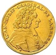 1 Ducat - Johann Philipp Graf von Lamberg – avers