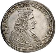 1 Thaler - Johann Philipp, Graf von Lamberg – avers