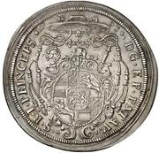 1 Thaler - Johann Philipp, Graf von Lamberg – revers
