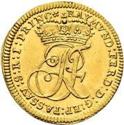 ½ Ducat - Raimund Ferdinand von Rabatta – avers