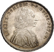 1 Thaler - Joseph Dominikus von Lamberg – avers
