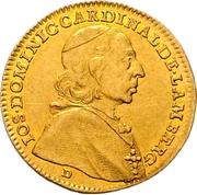 1 Ducat - Joseph Dominicus von Lamberg – avers
