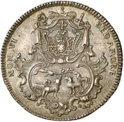 ¼ Thaler - Leopold Ernst Joseph von Firmian – avers