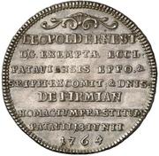 ¼ Thaler - Leopold Ernst Joseph von Firmian – revers
