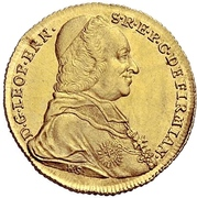 1 Ducat - Leopold Ernst von Firmian – avers