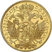 6 ducat Joseph Dominicus de Lamberg – revers
