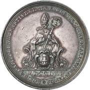 Médaille - Sede Vacante de 1761 (Passau) – avers
