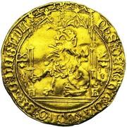 Lion d'Or - Philippe le Bon – avers