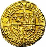 Florin de Bourgogne - Philippe le Bon – revers