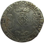 2 Stuivers - Philip the Fair 1496-1500 Antwerp – revers