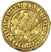 Bourgondische Gulden - Mary of Burgundy – revers