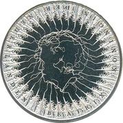5 euros Traité d'Utrecht (cuivre plaqué argent) -  avers