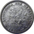 ½ cent - Wilhelmina – avers