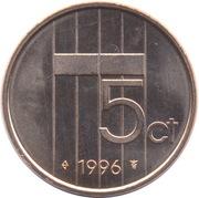 5 cents Beatrix – revers