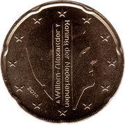 20 cents d'euro Willem-Alexander -  avers