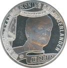 10 euros Couronnement de Willem-Alexander (argent) – avers