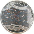 10 euros Couronnement de Willem-Alexander (argent) – revers