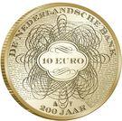 10 euros Banque des Pays-Bas – revers