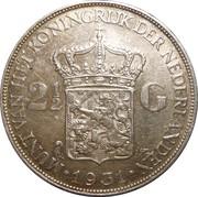2½ gulden -  avers