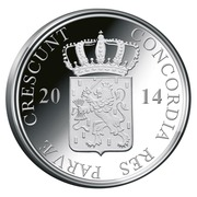 1 Ducat - Willem-Alexander (Flevoland; Silver Bullion Coinage) – avers
