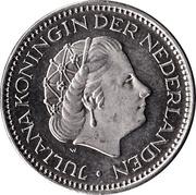 1 gulden Juliana -  avers