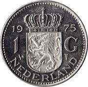 1 gulden Juliana -  revers