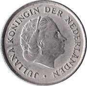 10 cents Juliana -  avers