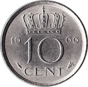 10 cents Juliana -  revers