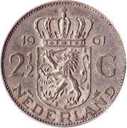 2½ gulden (argent) -  revers