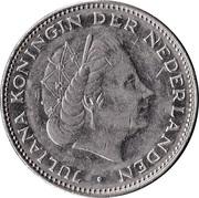 2½ gulden Juliana -  avers