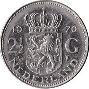2½ gulden Juliana -  revers