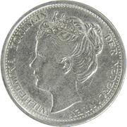 10 cents Whilelmina (petite tête) – avers