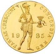 1 Golden Ducat - Beatrix Gold Bullion Coinage – avers