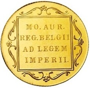 1 Golden Ducat - Beatrix Gold Bullion Coinage – revers