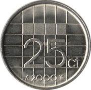 25 cents Beatrix -  revers
