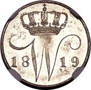 5 Cents - Wilhelm I – avers