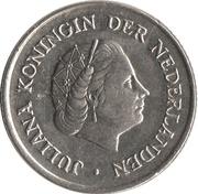 25 cents Juliana -  avers