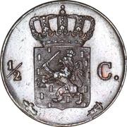 ½ Cent - Wilhelm II – revers