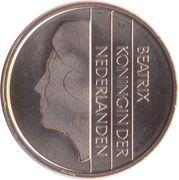 5 cents Beatrix – avers