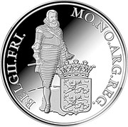Silver ducat - Frise – revers