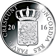 1 Ducat - Willem-Alexander (Gelderland; Silver Bullion Coinage) – avers