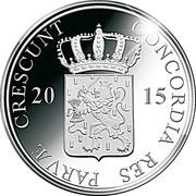 1 Ducat - Willem-Alexander (Noord-Brabant; Silver Bullion Coinage) – avers