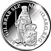 1 Ducat - Willem-Alexander (Noord-Brabant; Silver Bullion Coinage) – revers