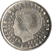 1 Gulden 2001 -  avers